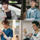 "Ahn Hyo Seop, Lee Sung Kyung, Kim Min Jae, Han Suk Kyu, And More Are Full Of Passion Behind The Scenes Of ""Dr. Romantic 2"""