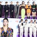 Stars Sparkle On Red Carpet For 9th Gaon Chart Music Awards