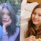 "IU Jokes About Feeling Disappointed When ""Love Poem"" Beat ""Blueming"" + Reveals Special Gift From GFRIEND's Umji"