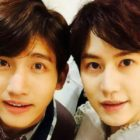 TVXQ's Changmin Cheers On Super Junior's Kyuhyun On The 1st Night Of His Musical