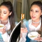 """Watch: Yeonwoo Surprises With Her Ariana Grande Makeup And Films Eating Show For """"Touch"""""""