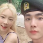SHINee's Key Cheers On Girls' Generation's Taeyeon's Comeback With Photos Of Her Visit