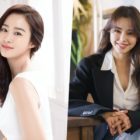 Kim Tae Hee Thanks Honey Lee For Showing Support For Her 1st Drama In 5 Years