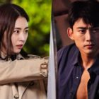 "2PM's Taecyeon And Lee Yeon Hee Lock Eyes During An Intense Pursuit In ""The Game: Towards Zero"""