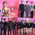 Stars Shine On The Red Carpet Of 29th Seoul Music Awards