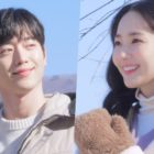 """Watch: Seo Kang Joon And Park Min Young Shine In """"I'll Go to You When the Weather is Nice"""" Poster Shoot"""