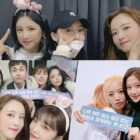 MAMAMOO's Moonbyul, BTOB's Ilhoon, And Moon Ga Young Support Apink At Their Concert