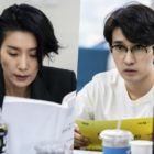 Kim Seo Hyung, Ryu Deok Hwan, And More Gather For Script Reading Of Upcoming Police Drama
