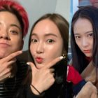 Jessica And Amber Hang Out In New York + Make Krystal Adorably Envious