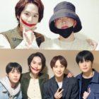 Super Junior's Kyuhyun Gets Cheered On By Ahn Jae Hyun And NCT's Doyoung, Jungwoo, And Jaehyun At His Musical