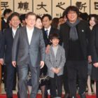 "Korean President Moon Jae In Honors ""Parasite"" Cast And Crew At Blue House Luncheon"
