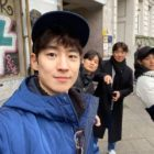 "Lee Je Hoon Shares Photo With ""Time To Hunt"" Cast In Berlin For 70th Berlin International Film Festival"