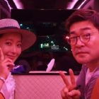 Son Hyun Joo Shows Off Gift From Kim Hee Sun On The Set Of His Upcoming Drama
