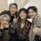 "Kim Ji Suk Shares Photos From Mini ""When The Camellia Blooms"" Reunion At Kang Ha Neul's Play"