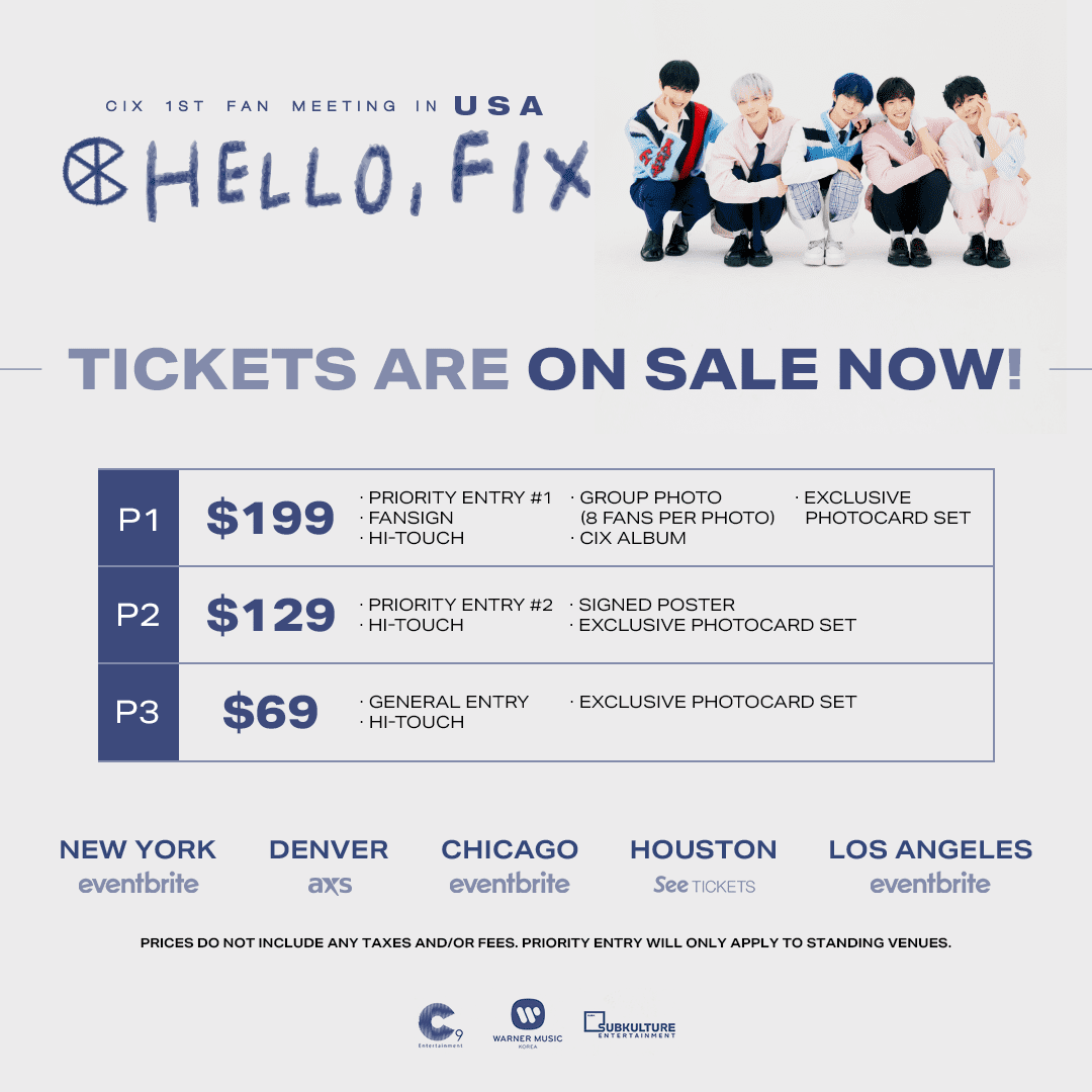 Fix A Ticket >> Giveaway Win Tickets To Attend Cix S 1st Fan Meeting Hello