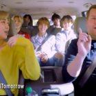 "Watch: BTS Sings ""ON"" With James Corden In Fun ""Carpool Karaoke"" Preview"