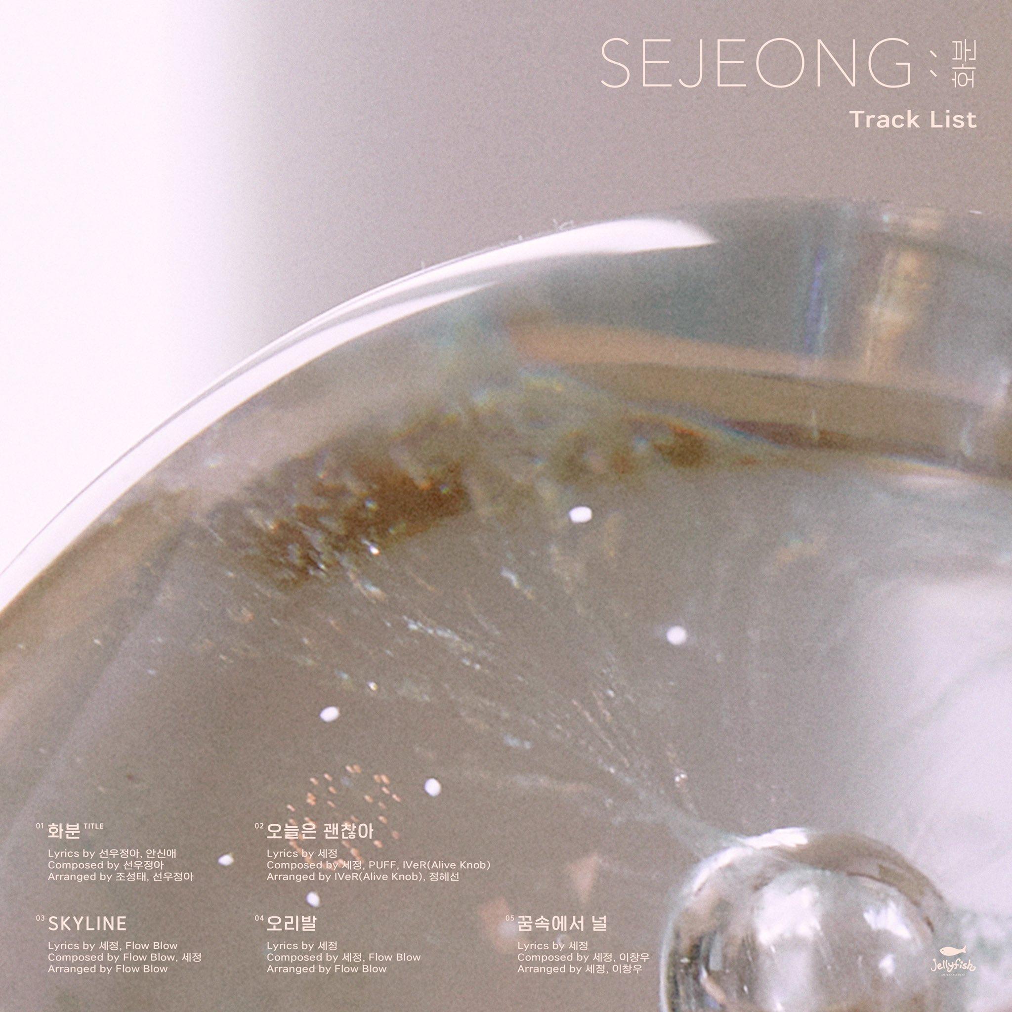 Kim Sejeong Track List