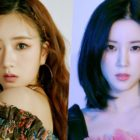 "Update: Apink's Bomi And Chorong Stun In ""Look"" Teasers"