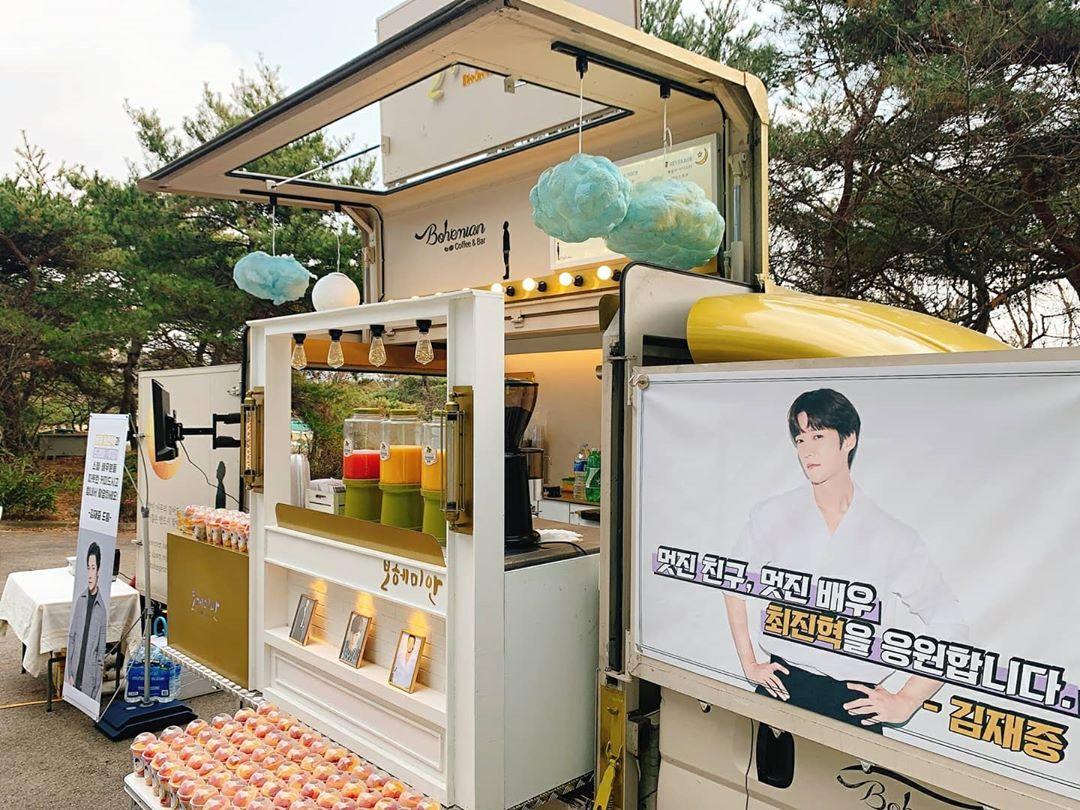 Choi Jin Hyuk Coffee Truck 2