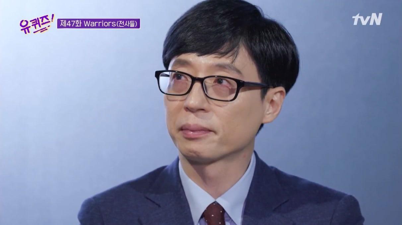 Yoo Jae Suk Nangis Saat Bicara dengan Perawat Pasien Corona