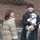 "Watch: Nam Ji Hyun + Lee Joon Hyuk Enjoy Filming With Cute Puppy Behind The Scenes Of ""365: Repeat The Year"""