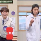 Watch: Super Junior's Heechul + SEVENTEEN's Seungkwan Face Off In 1-Second Music Guessing Game