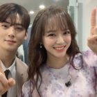 gugudan's Kim Sejeong Shares Photo Showing Her Friendship With ASTRO's Cha Eun Woo