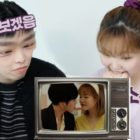 "Watch: AKMU Shows Off Hilarious Sibling Dynamic While Reacting To WINNER's ""Hold"" MV + Lee Soo Hyun's Almost-Kiss Scene"