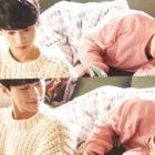 "Kim Myung Soo And Shin Ye Eun Enjoy A Heart-Fluttering Date At Home In ""Meow The Secret Boy"""