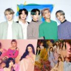 BTS Becomes 1st Artist To Receive Quadruple Million Certification From Gaon; Red Velvet, IZ*ONE, + More Go Platinum