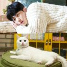 """(HQ Stills) Kim Myung Soo And Cat Actor Baegi Are """"Purr-Fect"""" As Hong Jo In """"Meow The Secret Boy"""""""