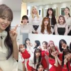 "Watch: IZ*ONE, Weki Meki, And Kim Sejeong Compete Against Each Other On ""Immortal Songs"""