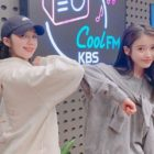 IU Shares Her Love For Apink's Jung Eun Ji, Yoo In Na, And Kang Han Na, What She's Been Up To, And More