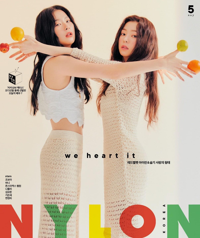 Irene Seulgi Red Velvet NYLON