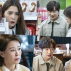 "Lee Min Jung And Lee Sang Yeob Are In A Pickle As Their Families Are Close To Finding Out Their Secret In ""Once Again"""