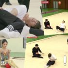 "Watch: ASTRO's Cha Eun Woo Suffers Hilarious Mishap While Attempting Rhythmic Gymnastics On ""Master In The House"""