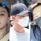 BTOB's Hyunsik, Yook Sungjae, And PENTAGON's Jinho Enlist In The Military + Teammates Send Them Off With Hugs