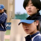 "Watch: Lee Joo Young Is A Genius Baseball Player With A Powerful Pitch In Upcoming Film ""Baseball Girl"""