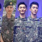 Xiumin, D.O., Yoon Ji Sung, Sungyeol, Kim Min Suk, And More Cast In Military Musical