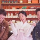 "Watch: BTOB's Yook Sungjae, Hwang Jung Eum, And Choi Won Young Talk About Their Characters And Experiences Filming ""Mystic Pop-Up Bar"""