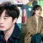 "Jung Il Woo And Kang Ji Young Face Difficulties Amid Rainy Weather In Upcoming Drama ""Sweet Munchies"""