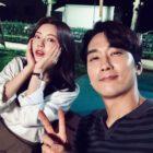 "Song Seung Heon Thanks Lee Sun Bin For Sending Gift To ""Dinner Mate"" Set"