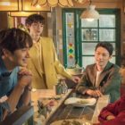 "Jung Il Woo, Kang Ji Young, Lee Hak Joo, And More Find Romance In ""Sweet Munchies"" Poster"