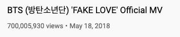 bts fake love view