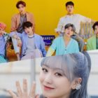 MONSTA X And Lovelyz's Sujeong Talk About A Funny Encounter Between Their Two Groups