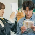 """My Unfamiliar Family"" Cast Shows Dedication While Studying Their Scripts On Drama Set"