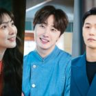 "Kang Ji Young, Jung Il Woo, And Lee Hak Joo Portray A Dynamic Love Triangle In ""Sweet Munchies"" (HQ Stills)"