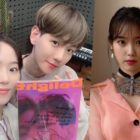 "Kang Han Na And EXO's Baekhyun Take On ""Candy Challenge"" Together + IU Reacts"