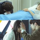 """Yoo Ji Tae Watches Over Lee Bo Young As GOT7's Jinyoung Tends To Jeon So Nee In """"When My Love Blooms"""""""