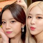 BLACKPINK's Rosé Sends Sweet Birthday Gift To Girl's Day's Hyeri